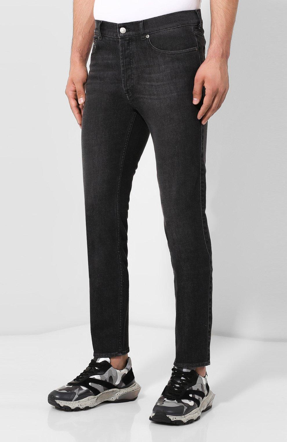 Мужские джинсы GIVENCHY черного цвета, арт. BM50DF50BJ | Фото 3