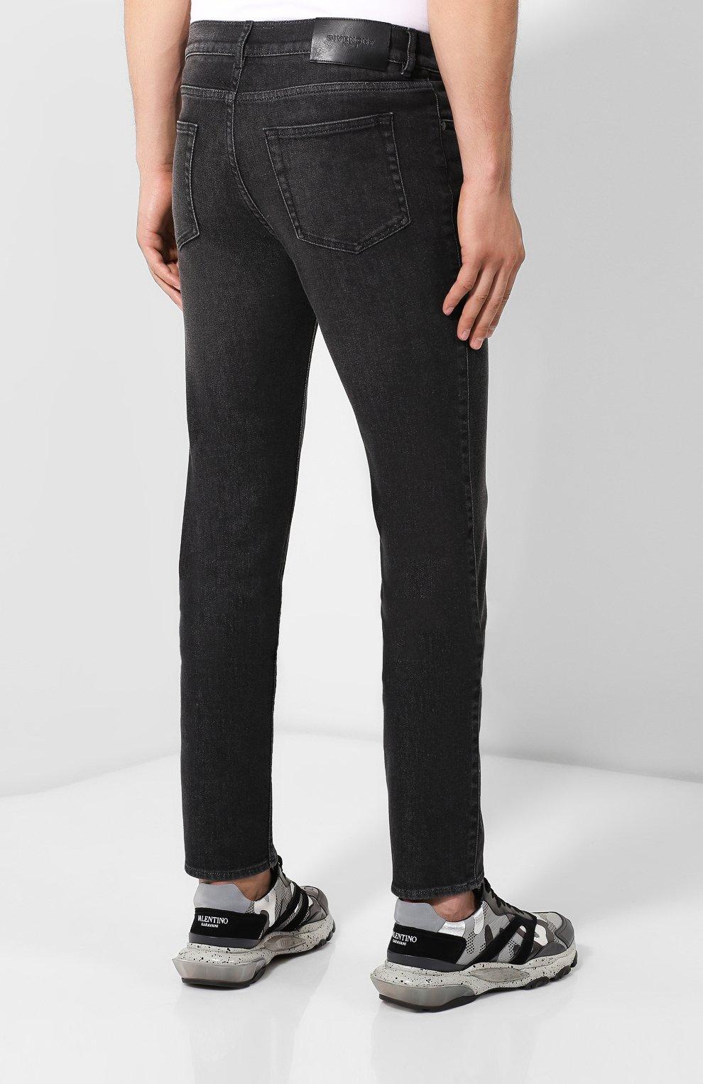 Мужские джинсы GIVENCHY черного цвета, арт. BM50DF50BJ | Фото 4