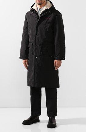 Мужские кожаные челси BOTTEGA VENETA черного цвета, арт. 578296/VIFH0 | Фото 2