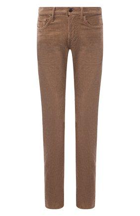 Мужской хлопковые брюки TOM FORD бежевого цвета, арт. BTJ19/TFD002 | Фото 1