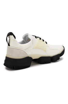 Мужские кожаные кроссовки jaw GIVENCHY белого цвета, арт. BH001NH0FD | Фото 4