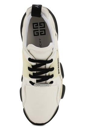 Мужские кожаные кроссовки jaw GIVENCHY белого цвета, арт. BH001NH0FD | Фото 5