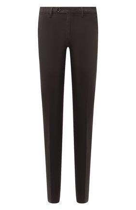 Мужской хлопковые брюки CORNELIANI коричневого цвета, арт. 844ET7-9820159/00 | Фото 1