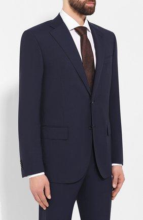 Мужской шерстяной костюм CORNELIANI синего цвета, арт. 847268-9818414/92 Q1 | Фото 2