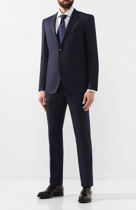 Мужской шерстяной костюм CORNELIANI темно-синего цвета, арт. 847230-9817293/92 Q1 | Фото 1