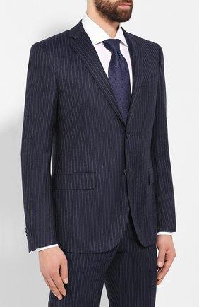 Мужской шерстяной костюм CORNELIANI темно-синего цвета, арт. 847230-9817293/92 Q1 | Фото 2