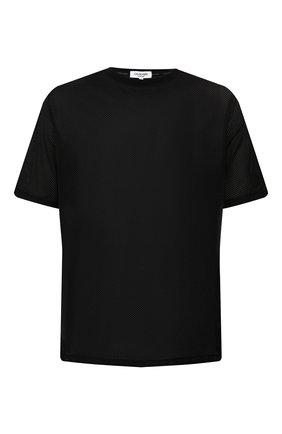 Мужская футболка CALVIN KLEIN черного цвета, арт. KM0KM00332 | Фото 1