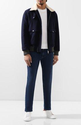 Мужские джинсы ZILLI синего цвета, арт. MCS-00015-DEJA1/S001 | Фото 2