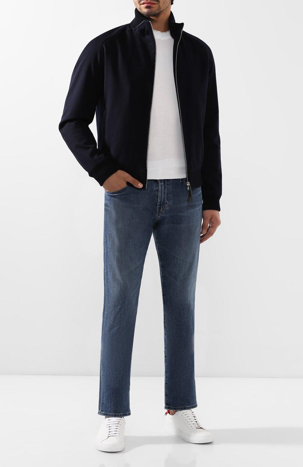 Мужские джинсы AG синего цвета, арт. 1794FXD/BAY0 | Фото 2