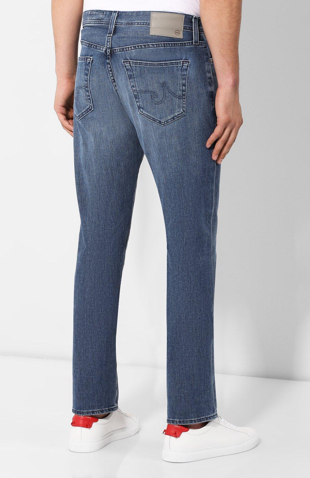 Мужские джинсы AG синего цвета, арт. 1794FXD/BAY0 | Фото 4