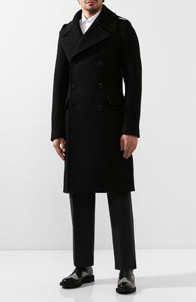 Мужские кожаные дерби ALEXANDER MCQUEEN черного цвета, арт. 586715/WHCVA | Фото 2