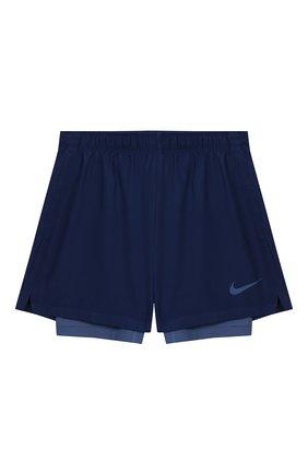 Детские шорты nike dry 2in1 shorts NIKE синего цвета, арт. AV4712-492 | Фото 1