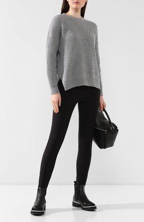 Женские кожаные челси PERTINI черного цвета, арт. 192W15139D1   Фото 2
