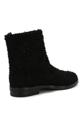 Женские текстильные ботинки CASADEI черного цвета, арт. 1R112N0201T00249000 | Фото 4