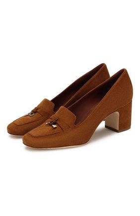 Замшевые туфли Summer Charms | Фото №1