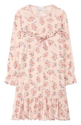 Детская сорочка LA PERLA розового цвета, арт. 55753/8A-14A | Фото 1