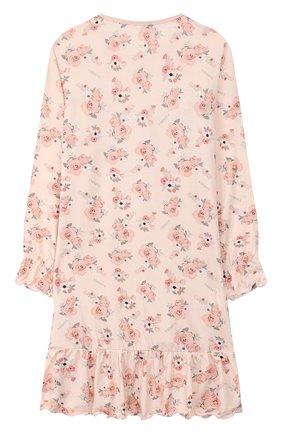 Детская сорочка LA PERLA розового цвета, арт. 55753/8A-14A | Фото 2