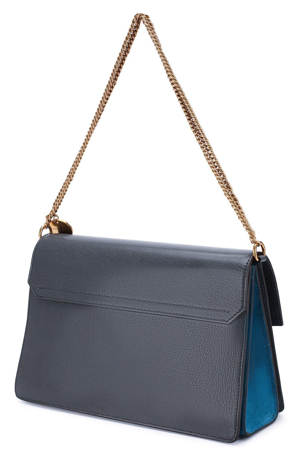 Женская сумка gv3 medium GIVENCHY серого цвета, арт. BB501DB033   Фото 3