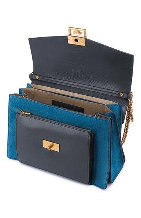 Женская сумка gv3 medium GIVENCHY серого цвета, арт. BB501DB033   Фото 4