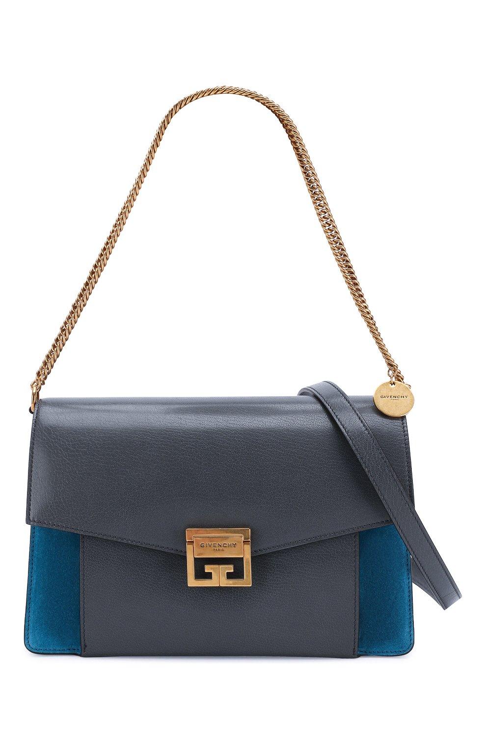 Женская сумка gv3 medium GIVENCHY серого цвета, арт. BB501DB033   Фото 6