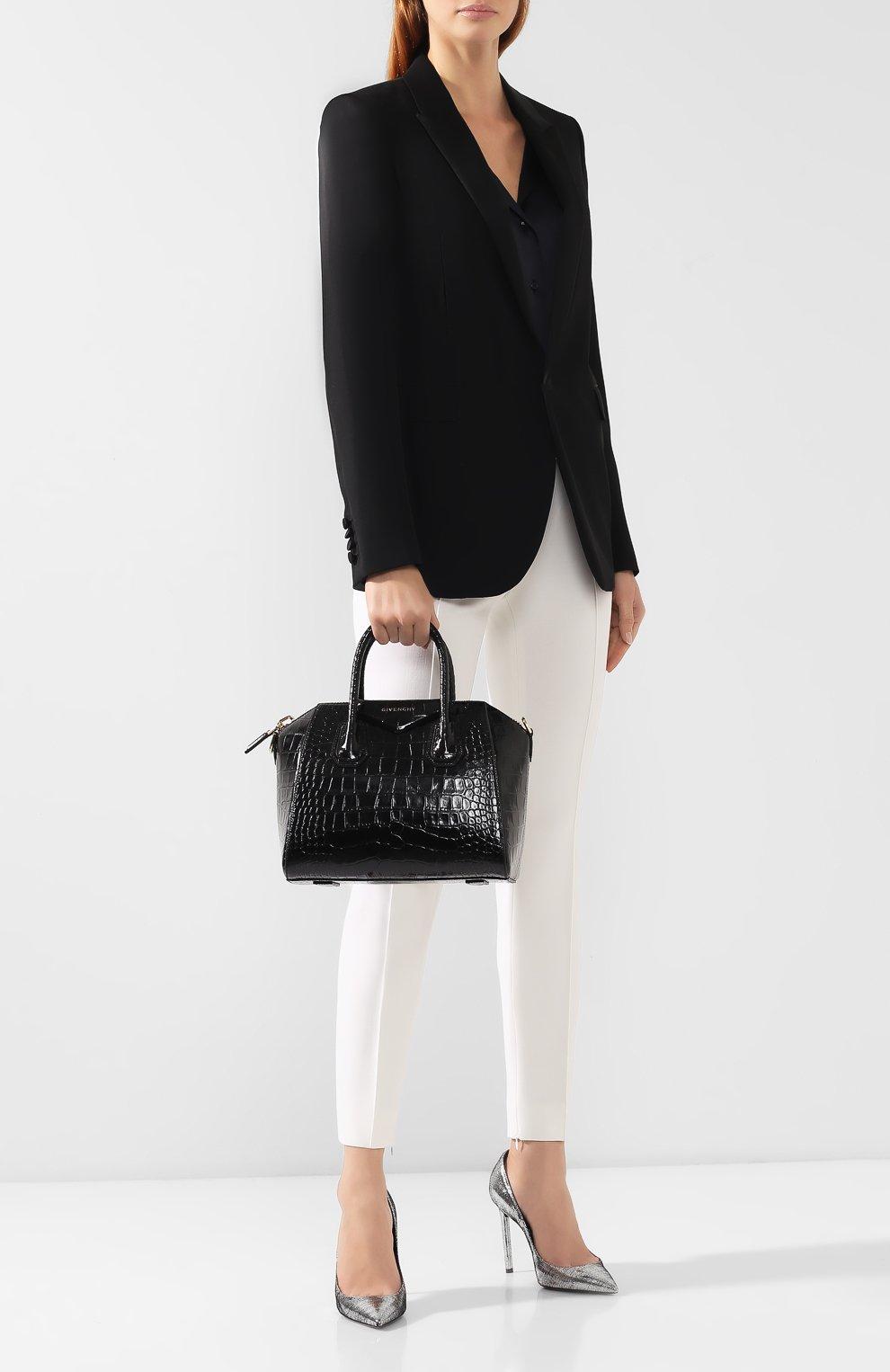 Сумка Antigona mini Givenchy черная цвета   Фото №2
