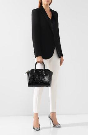 Женская сумка antigona small GIVENCHY черного цвета, арт. BB500CB0LK | Фото 2
