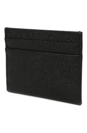 Женский кожаный футляр для кредитных карт DOLCE & GABBANA черного цвета, арт. BI0330/A1001 | Фото 2