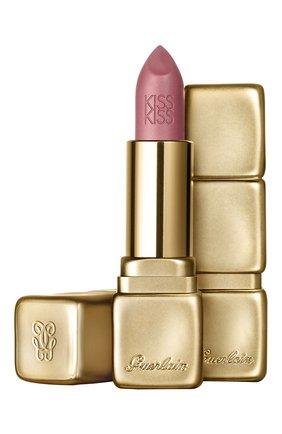 Женская помада для губ kisskiss matte, оттенок m379 пылкий розовый GUERLAIN бесцветного цвета, арт. G043014 | Фото 1