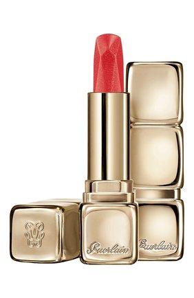 Женская помада для губ kisskiss, оттенок 545 коралловый циркон GUERLAIN бесцветного цвета, арт. G043000 | Фото 1