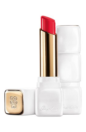 Женский бальзам для губ kisskiss, оттенок r330 персиковый жемчуг GUERLAIN бесцветного цвета, арт. G042995 | Фото 1