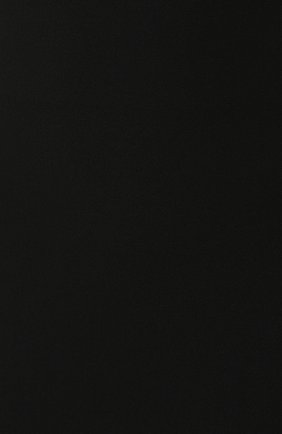 Женская хлопковая юбка BOSS черного цвета, арт. 50414346 | Фото 5