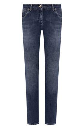 Женские джинсы BRUNELLO CUCINELLI синего цвета, арт. MH107P5495 | Фото 1
