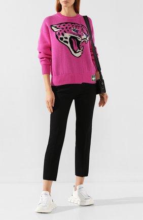 Пуловер из смеси шерсти и кашемира | Фото №2
