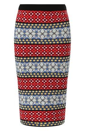 Женская юбка-карандаш ALICE + OLIVIA разноцветного цвета, арт. CC906S14706 | Фото 1
