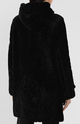 Женская дубленка SAINT LAURENT черного цвета, арт. 581116/Y7SJ2 | Фото 4