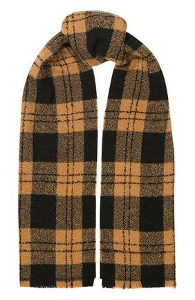 Мужской шарф из смеси шерсти и кашемира Z ZEGNA бежевого цвета, арт. Z6L86/26H | Фото 1