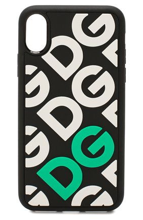 Мужской чехол для iphone xs DOLCE & GABBANA зеленого цвета, арт. BP2418/AA889 | Фото 1