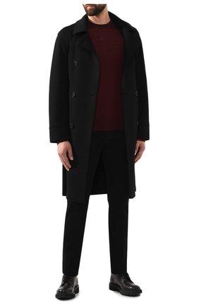 Мужской шерстяной джемпер GIORGIO ARMANI красного цвета, арт. 8NSM01/SM01Z | Фото 2