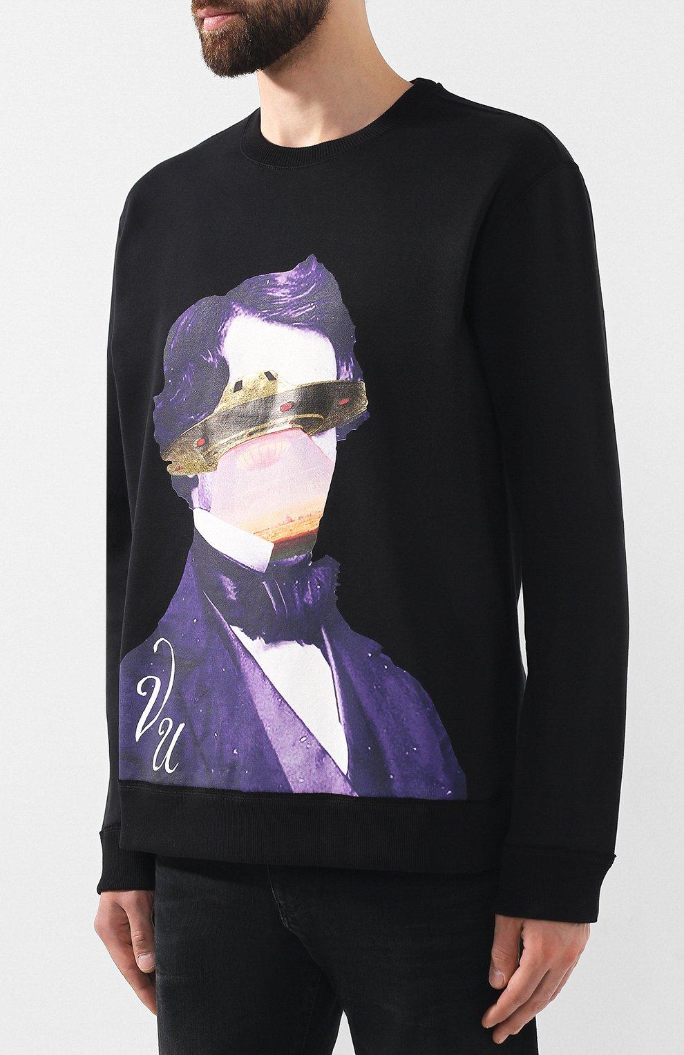 Хлопковый свитшот Valentino x Undercover | Фото №3