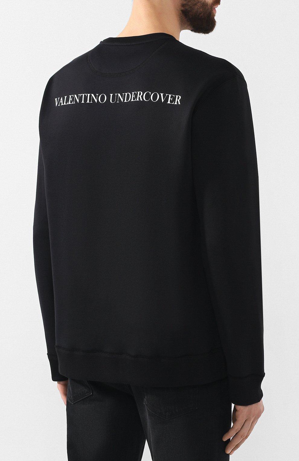 Хлопковый свитшот Valentino x Undercover | Фото №4