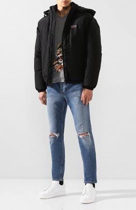 Мужская куртка GIVENCHY черного цвета, арт. BM00B9101E | Фото 2