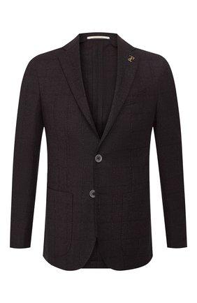Мужской шерстяной пиджак PAL ZILERI бордового цвета, арт. P324423-2--B1907 | Фото 1