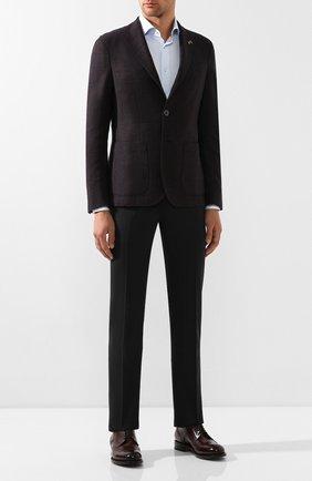 Мужской шерстяной пиджак PAL ZILERI бордового цвета, арт. P324423-2--B1907 | Фото 2