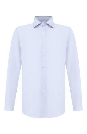Мужская хлопковая сорочка PAL ZILERI голубого цвета, арт. P370G45----B0251 | Фото 1