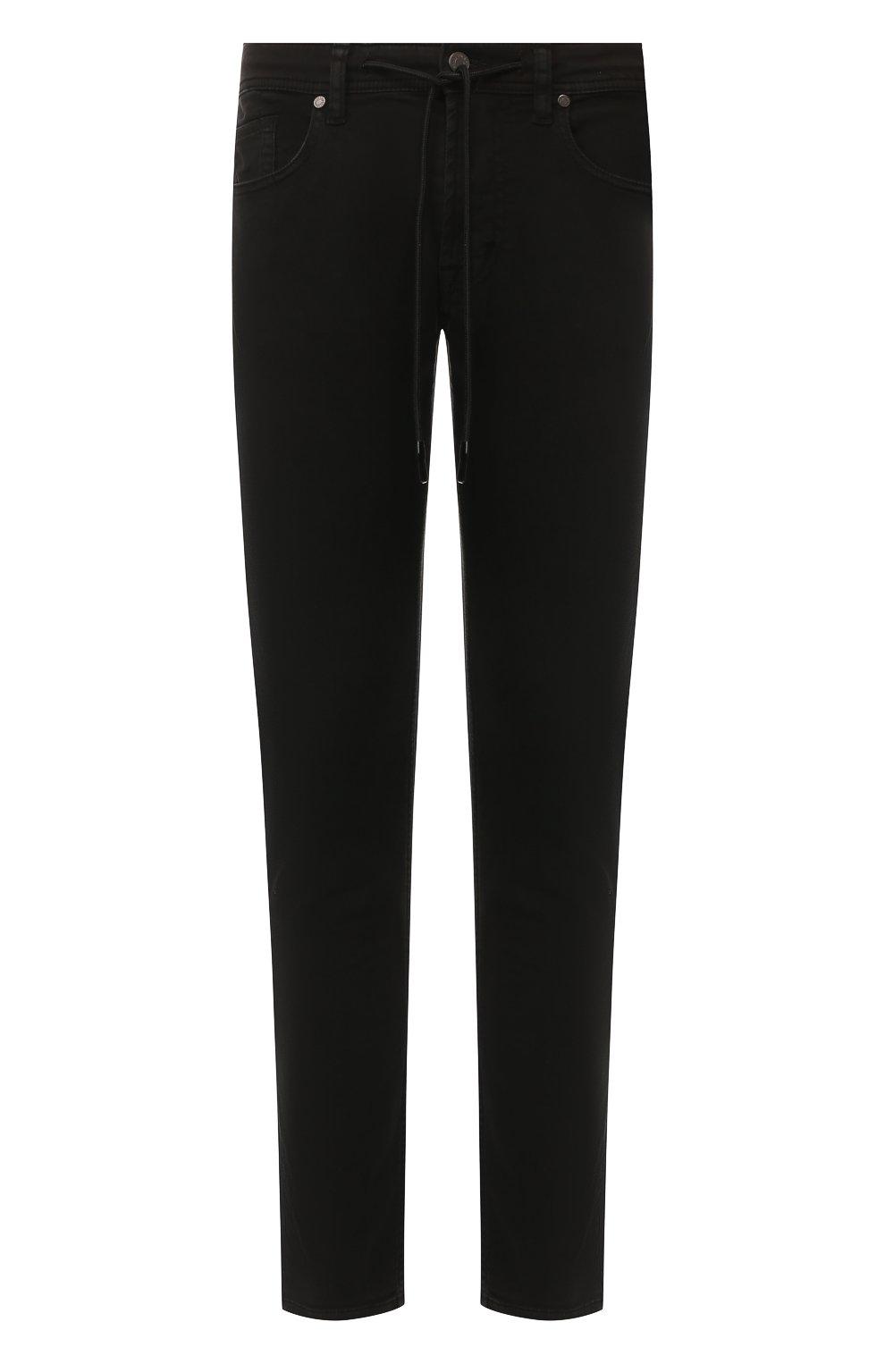 Мужские джинсы 7 FOR ALL MANKIND черного цвета, арт. JSU6V830BL   Фото 1