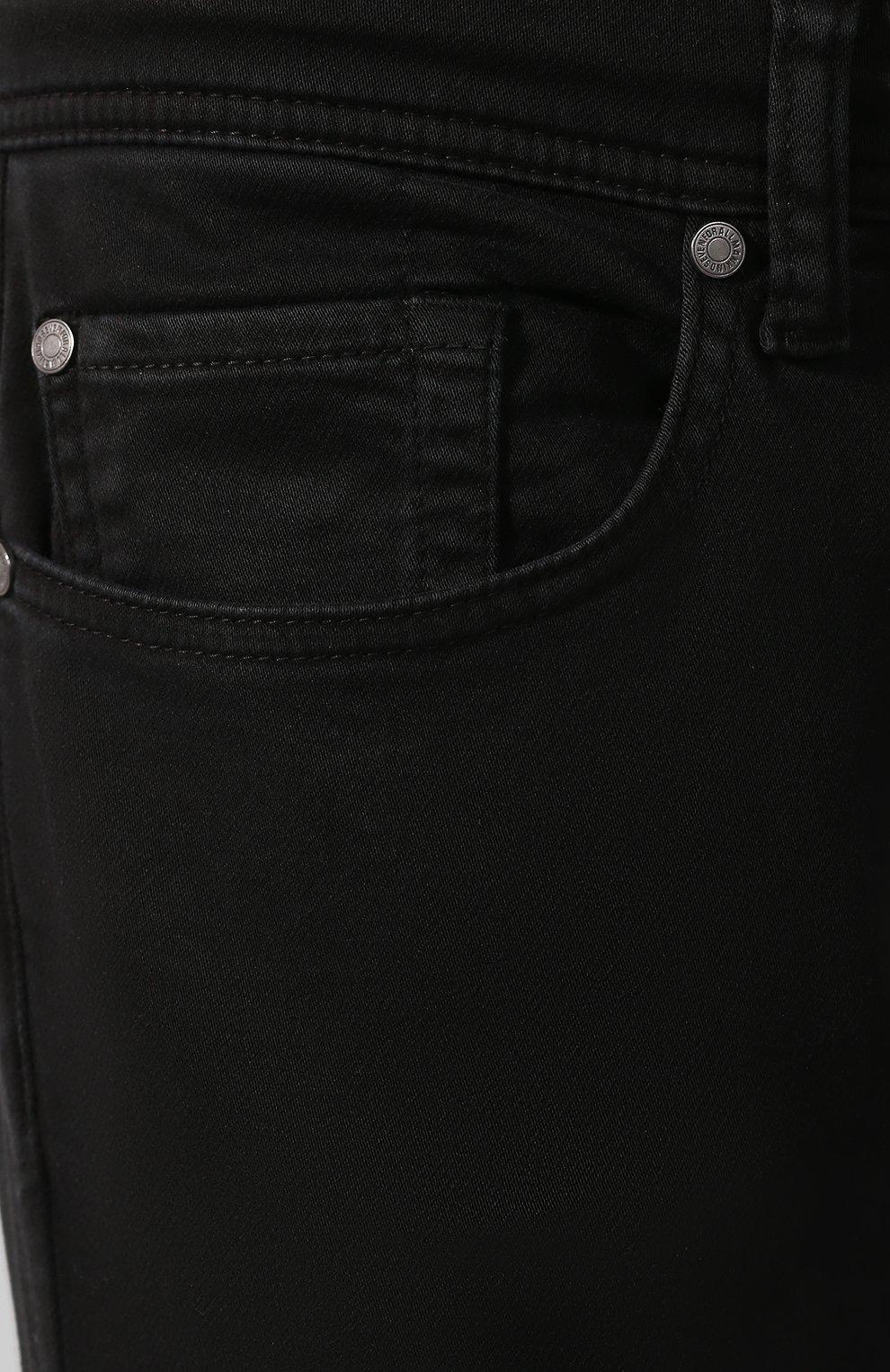 Мужские джинсы 7 FOR ALL MANKIND черного цвета, арт. JSU6V830BL   Фото 5