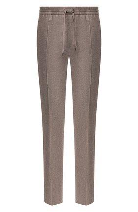 Мужской брюки из смеси шерсти и кашемира BRIONI серого цвета, арт. RPM10L/08AB3/SIDNEY | Фото 1
