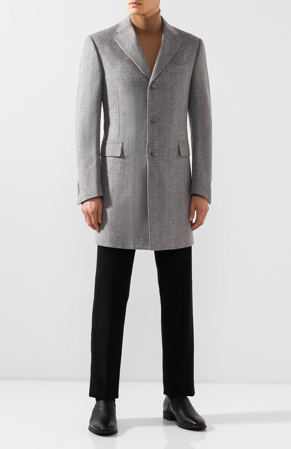 Мужские кожаные лоферы ALDO BRUE черного цвета, арт. AB501BPH-CM | Фото 2