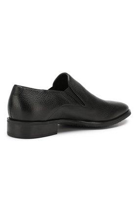 Мужские кожаные лоферы ALDO BRUE черного цвета, арт. AB501BPH-CM | Фото 4