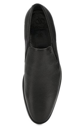Мужские кожаные лоферы ALDO BRUE черного цвета, арт. AB501BPH-CM | Фото 5